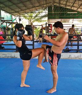 Coaching Boxe Thailande