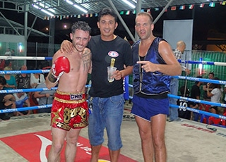 Coaching Stage de Boxe Thailande