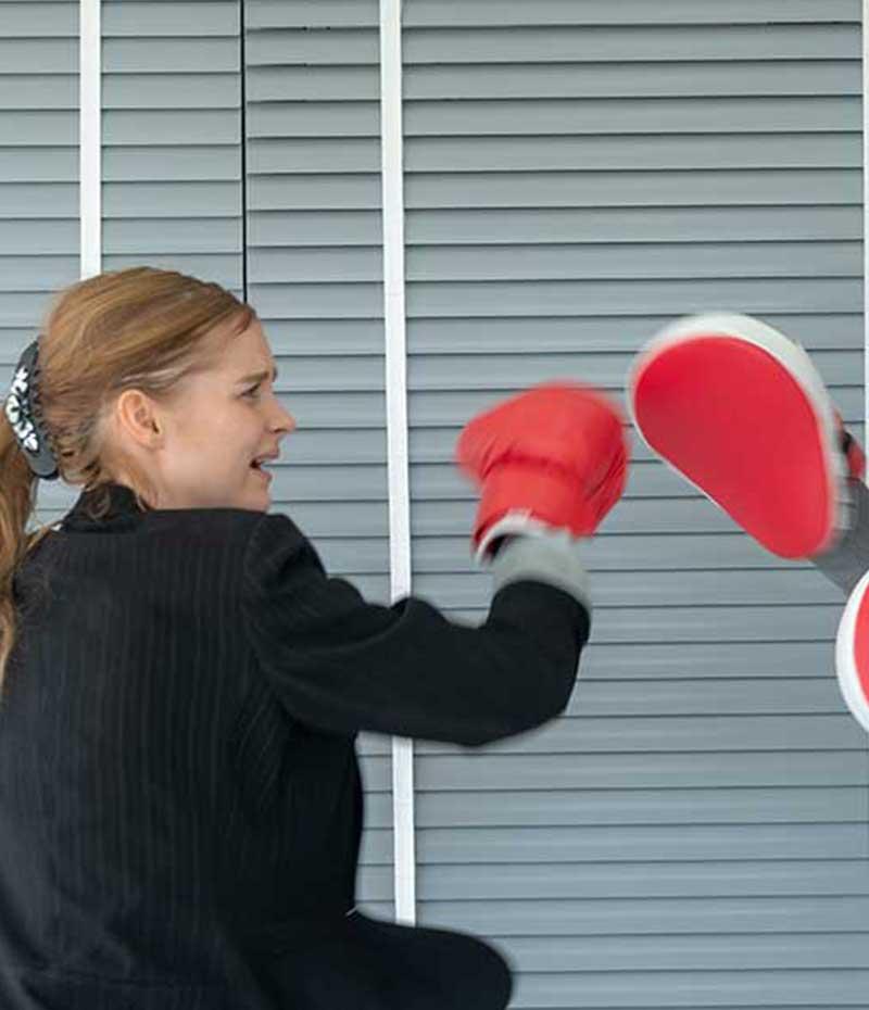 Coach Boxe Kickboxing au Travail