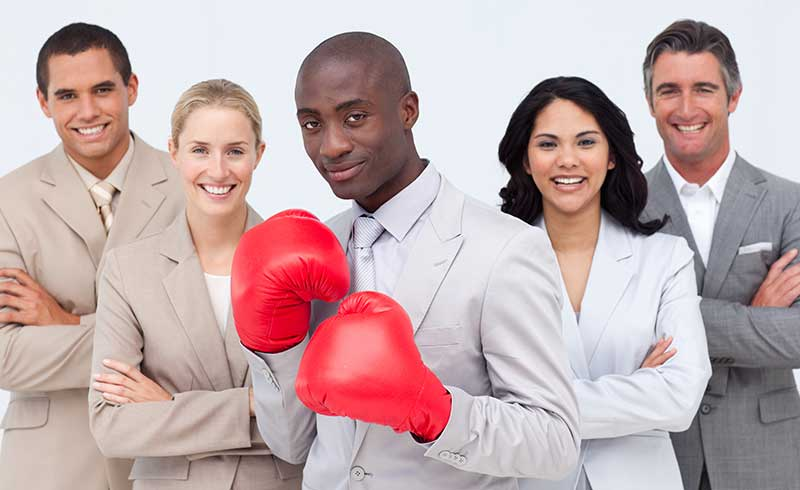 Coach Kick Boxing K1 en Entreprise