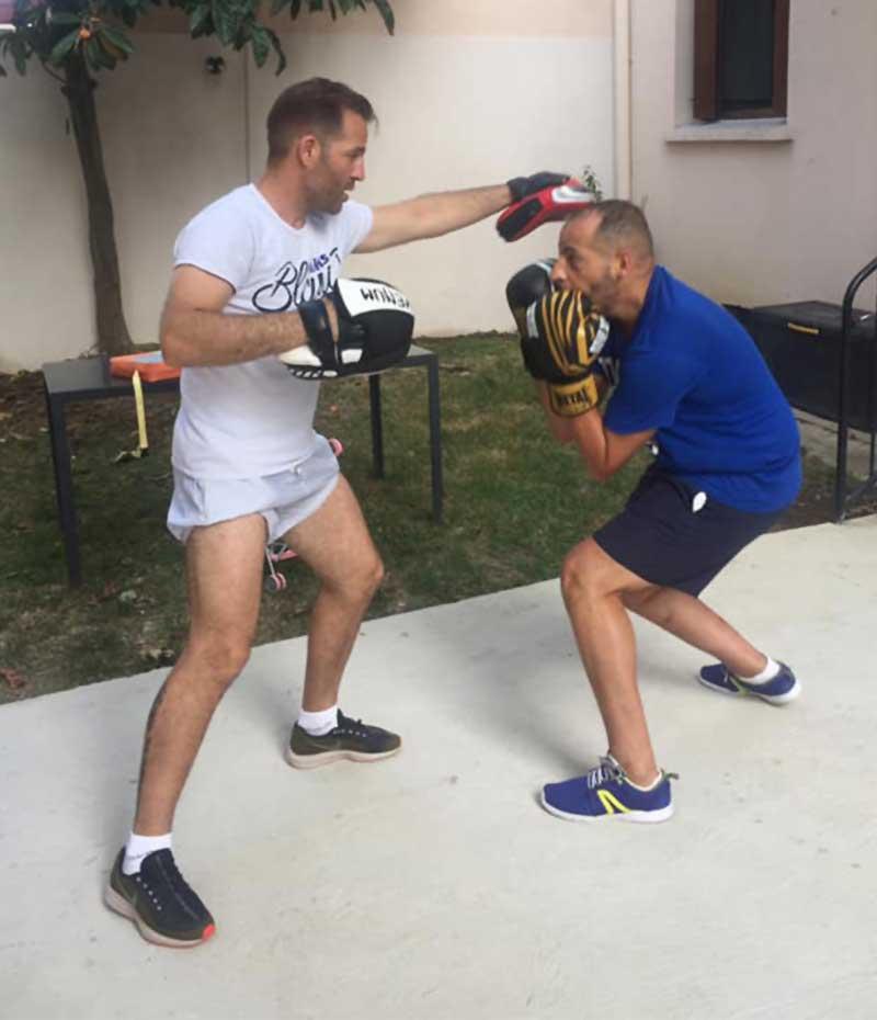 Coach Sportif Boxe a la maison Villeneuve Tolosane