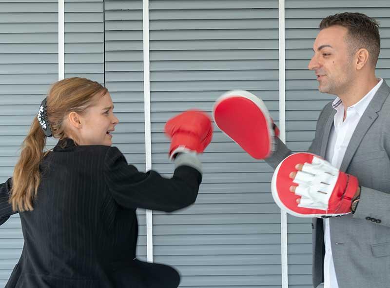 Coaching Kick Boxing en Entreprise